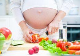 Dinh dưỡng cho bà bầu tháng thứ 10