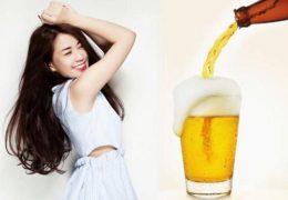 Học cách làm đẹp da bằng bia hiệu quả tại nhà