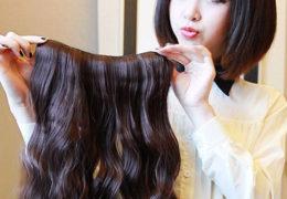 Quan tâm đến bộ tóc giả của mình không thua gì mái tóc thật, bạn nhé!.