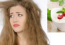 Mách bạn 6 cách làm đẹp tóc bằng sữa chua