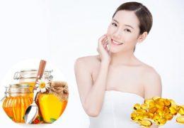 Bất ngờ cách làm đẹp da mặt bằng vitamin E