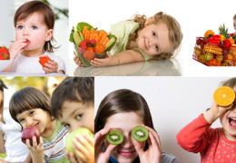 Dinh dưỡng cho trẻ từ 1 – 3 tuổi