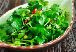 Bạn biết gì về công dụng của cây rau mùi?