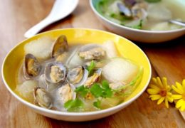 Canh ngao nấu bị thơm ngon giải nhiệt ngày hè