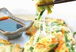 Cách làm bánh xèo phô mai kiểu Hàn cực hấp dẫn
