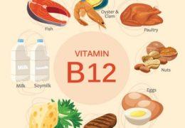 Cần bổ sung thực phẩm giàu vitamin B12