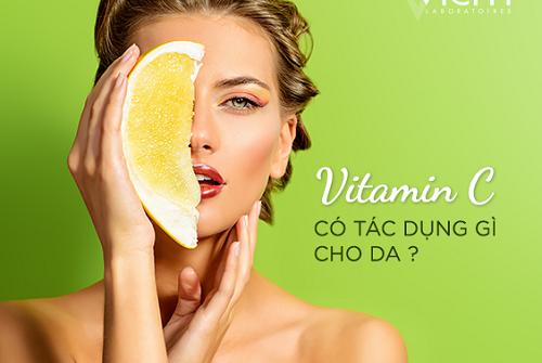 Vitamin C có nhiều công dụng đối với làn da