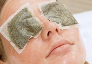 Túi trà trị thâm mắt bẩm sinh hiệu quả